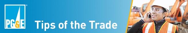 PG&E Tips of the Trade